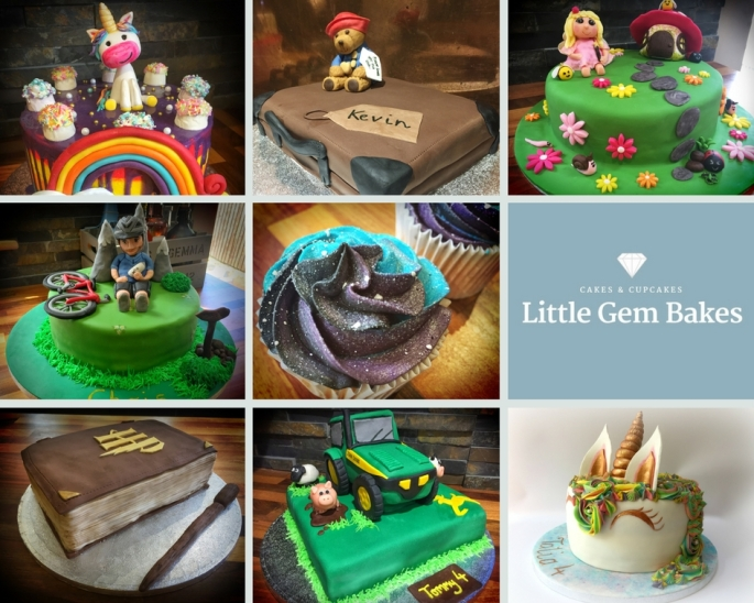 Little Gem Bakes collage